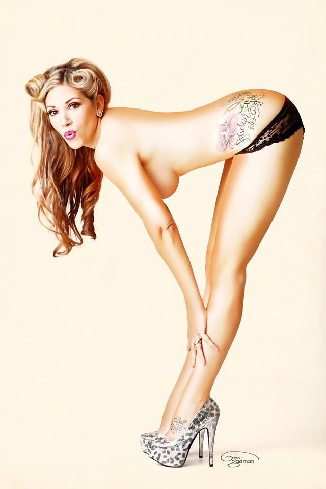 Long legs Classy Pin Up