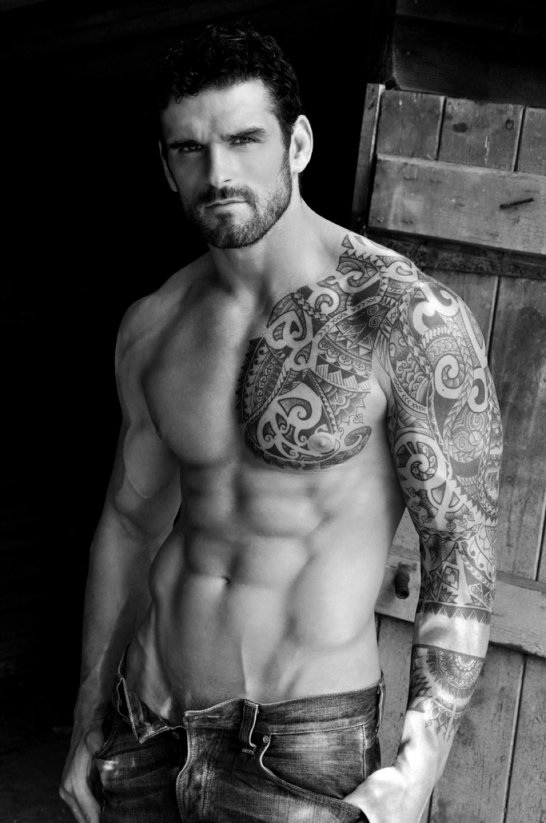 hot tattoo guy