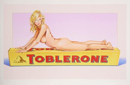 toblerone sexy ad