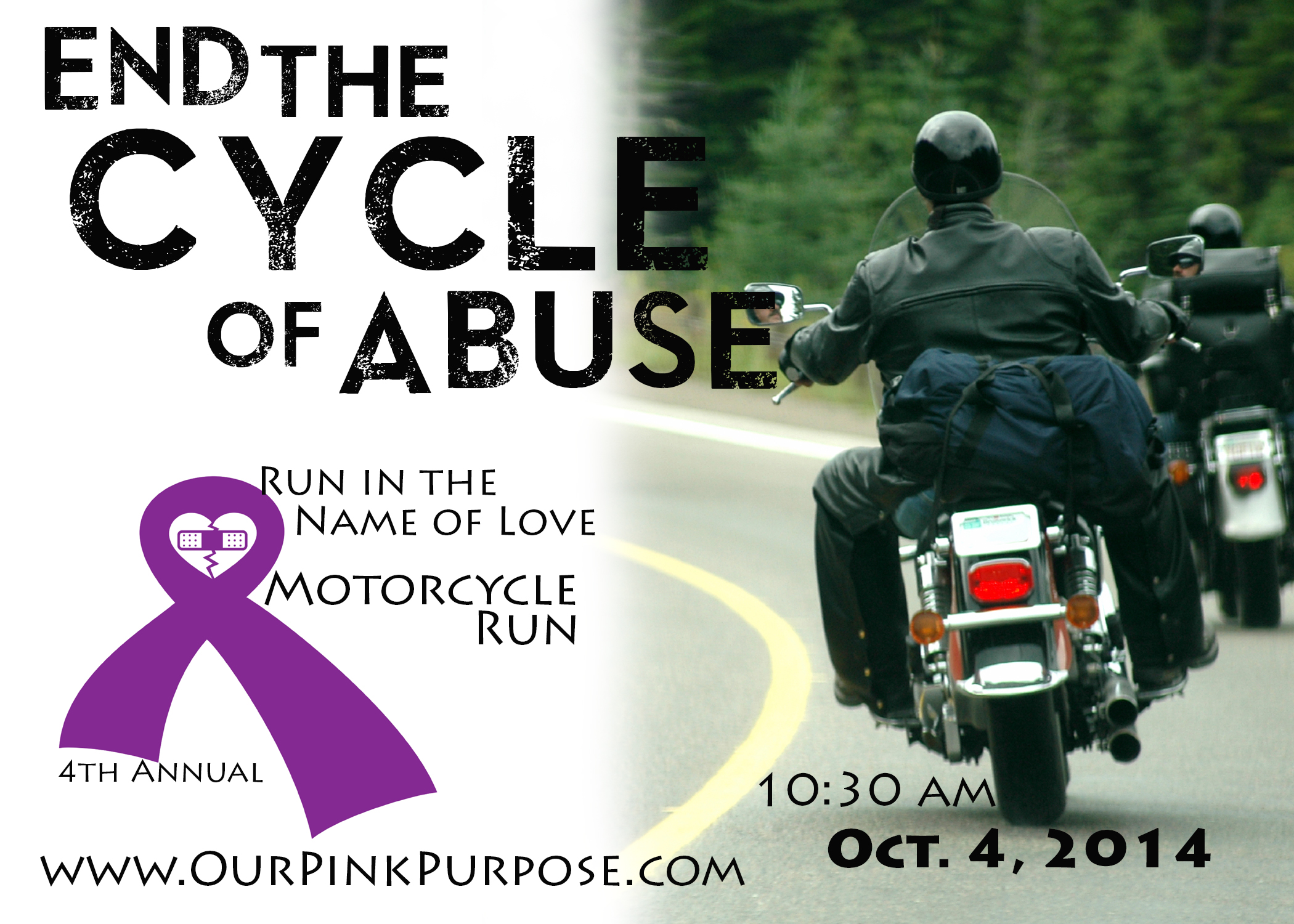 4th Annual Run in the Name of Love Motorcycle Run