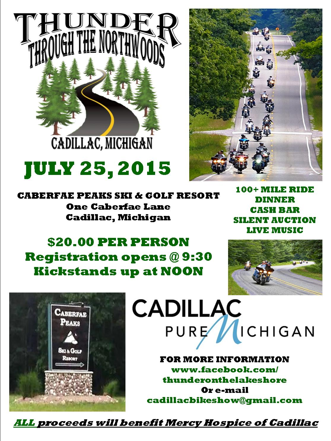 Thunder Through The North Woods 2015