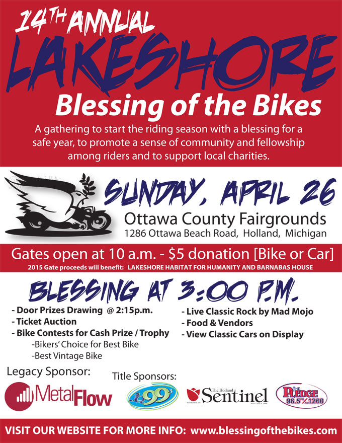 Lakeshore Blessing of the Bikes