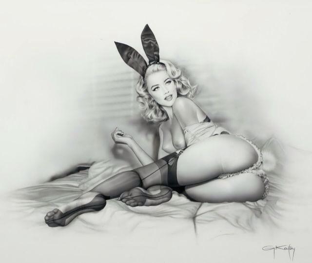 Classic Playboy Bunny look