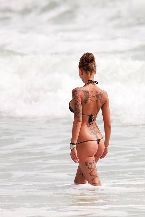 Hottie bathing suit