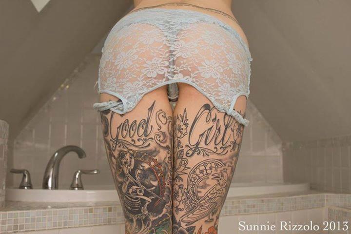tattoo model great ass